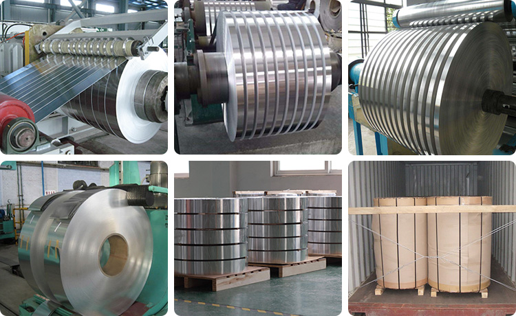 1 inch 2 inch wide aluminum metal strips production
